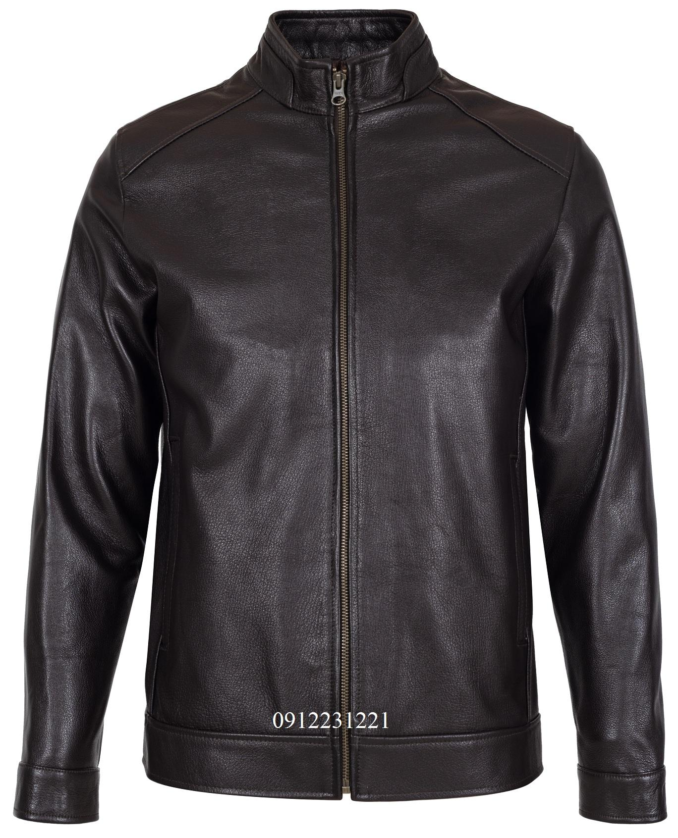áo da dê racer jacket