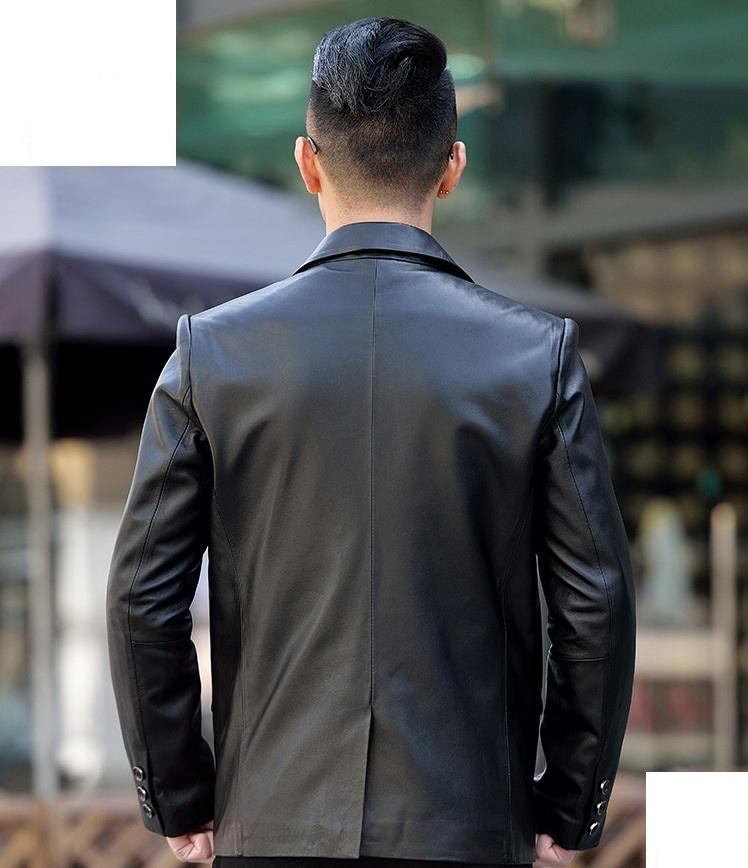 áo vest da thật
