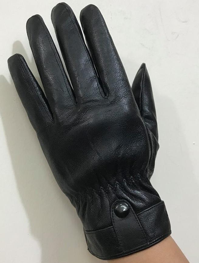găng tay da thật nam